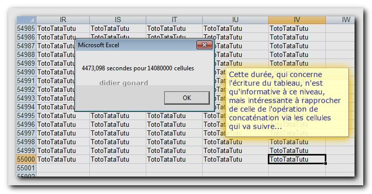 Conceptualisation Des Variables Tableau En Vba Et Sous Excel Optimisation Code Vba Excel